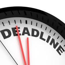 A deadline makes sense for finishing a peper, not ending breast cancer